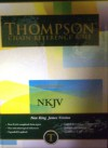 Thompson Chain Reference Bible (Style 313) - Regular Size NKJV - Hardcover - Frank Charles Thompson, John Stephen Jauchen