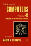 Advances in Computers, Volume 45 - Marvin V. Zelkowitz