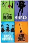 Red Eye Series 4 Books Collection Set Flesh and Blood, Sleepless, Bad Bones, Frozen Charlotte by Simon Cheshire (7-Jul-1905) Paperback - Simon Cheshire