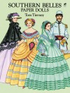 Southern Belles Paper Dolls in Full Color - Tom Tierney