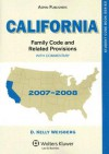 California Family Code and Related Provisions with Commentary - D. Kelly Weisberg
