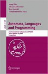 Automata, Languages and Programming: 31st International Colloquium, Icalp 2004, Turku, Finland, July 12-16, 2004, Proceedings - Josep Diaz, Juhani Karhumäki, Arto Lepistö, Donald Sannella