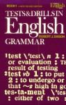 Tests & Drills in English Grammar, Book 1 (A New Revised Edition) - Robert J. Dixson