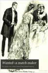 Wanted: A Match Maker (Notable American Authors) - Paul Leicester Ford, Howard Chandler Christy