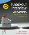 Knockout Interview Answers - Ken Langdon, Nikki Cartwright