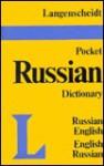 Langenscheidt Pocket Dictionary Russian/English-English/Russian - Langenscheidt