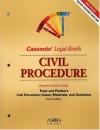 Civil Procedure: Keyed To Yeazell (Casenote Legal Briefs) - Aspen Publishers