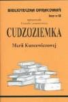 Cudzoziemka /BO/z.88/ - Maria Kuncewiczowa