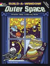 COLORING BOOK: Build a Window Stained Glass Coloring Book--Outer Space - NOT A BOOK