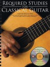 Required Studies for Classical Guitar [With CD (Audio)] - Jerry Willard
