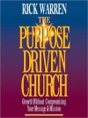 The Purpose-Driven Church (MP3 Book) - Anonymous