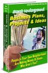 Secret Underground Business Plans, Projects & Ideas - James Jones, Martin Aranovitch