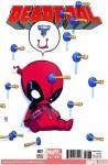 "Deadpool #1 Marvel Now! ""Alternative Baby Cover"" - DUGGAN, H.B. Moore"