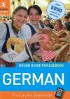The Rough Guide German Phrasebook - Lexus Ltd.