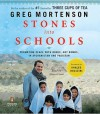 Stones into Schools: Promoting Peace with Books, Not Bombs, in Afghanistan and Pakistan (MP3 Book) - Greg Mortenson, Atossa Leoni
