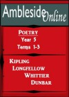 AmblesideOnline Poetry, Year 5, Terms 1-3 - Paul Lawrence Dunbar, Wendi Capehart, Henry Wadsworth Longfellow, John Greenleaf Whittier, Rudyard Kipling