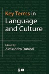 Key Terms in Language & Culture - Duranti, Alessandro Duranti