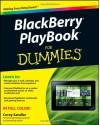 Blackberry Playbook for Dummies - Corey Sandler