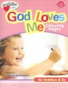 God Loves Me Coloring Pages (Ages 1-2) - Standard Publishing, Standard Publishing