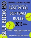 Blue Book 60 - Fast Pitch Softball: The Ultimate Guide to (NCAA - Nfhs - Asa - Usssa) Fast Pitch Softball Rules - Peter Robinson, James Langton