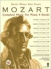 Music Minus One Piano/4 Hands: Mozart Complete Music For Piano 4 Hands (Sheet Music And 2 Cd Accompaniment Set) - Wolfgang Amadeus Mozart