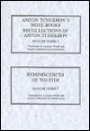 Anton Tchekhov's Notebooks, Recollections of Tchekhov, Reminiscences of Leo Tolstoi - S.S. Koteliansky, Maxim Gorky, Anton Chekhov