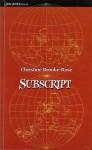 Subscript - Christine Brooke-Rose