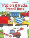Usborne Tractors & Trucks Stencil Book (Stencil Books) - Alice Pearcey, Anna Milbourne, Andy Tudor