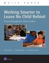 Working Smarter To Leave No Child Behind: Practical Insights For School Leaders - Brian M. Stecher, Laura Hamilton