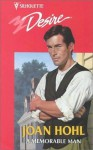 Mills & Boon : A Memorable Man (Man of the Month) - Joan Hohl