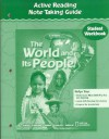 The World and Its People: Active Reading Note-Taking Guide: Student Workbook - Douglas Fisher