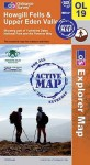 Map: Howgill Fells And Upper Eden Valley (Os Explorer Map Active) - NOT A BOOK