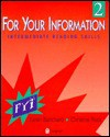 For Your Information: Book Two - Karen Lourie Blanchard, Christine Root