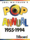 Pop Singles Annual 1955-1994 (Softcover) - Joel Whitburn