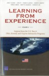 Learning from Experience: Volume II: Lessons from the U.S. Navy's Ohio, Seawolf, and Virginia Submarine Programs - John F. Schank, Cesse Ip, Frank W. LaCroix