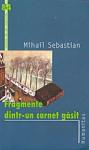 Fragmente dintr-un carnet gasit - Mihail Sebastian