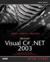 Microsoft Visual C#.Net 2003 Kick Start - Steven Holzner