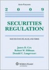 Securities Regulation: Selected Statutes, Rules, And Forms, 2009 Edition - James D. Cox, Robert W. Hillman, Donald C. Langevoort