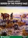 Riders of the Purple Sage (Library Edition) - Zane Grey, John Bolen