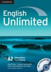 English Unlimited Elementary Coursebook With E Portfolio - Alex Tilbury, Theresa Clementson, Adrian Doff, Leslie Anne Hendra, David Rea