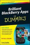 Brilliant Blackberry Apps for Dummies - Corey Sandler
