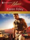 Hot-Blooded (Harlequin Blaze, #563) - Karen Foley