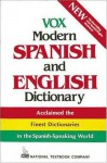 Vox Modern Spanish and English Dictionary (Vinyl Cover) - Vox