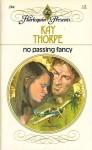 No Passing Fancy - Kay Thorpe