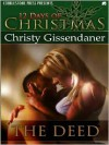 The Deed - Christy Gissendaner