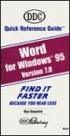 Word 7 for Windows 95 - DDC Publishing
