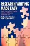 Research Writing Made Easy - Richard Walters, Stan DeKoven