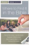 Where to Find It in the Bible - Rose Publishing