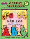 Amazing ABCs and 123s: Creative Alphabet & Number Clip Art for Classroom & Home - Dianne J. Hook