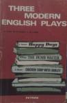 Three English modern plays - Samuel Beckett, Harold Pinter, Arnold Wesker, D. Caldi